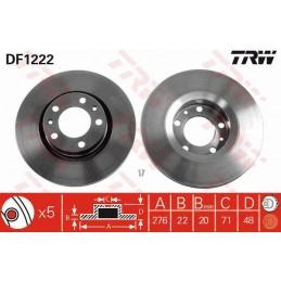 DF1222 - TRW BRAKE DISCS...