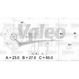 433452 - ALTERNADOR VALEO...