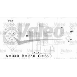 436646 - ALTERNADOR VALEO...